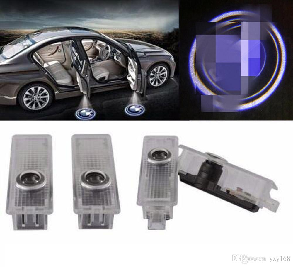 100PCS Car Door Courtesy LED Projector Ghost Shadow Light for BMW Logo Welcome Lights