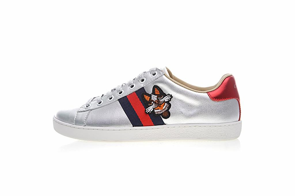 f85d7bac8 2019 GG Women Dog Ace Embroidered Low Top Sneaker From Skyhappy ...