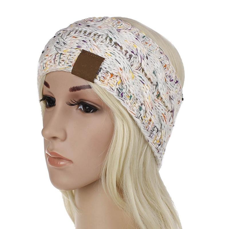 Großhandel Frauen Winter Gestrickte Stirnband Multi Farbe Stricken