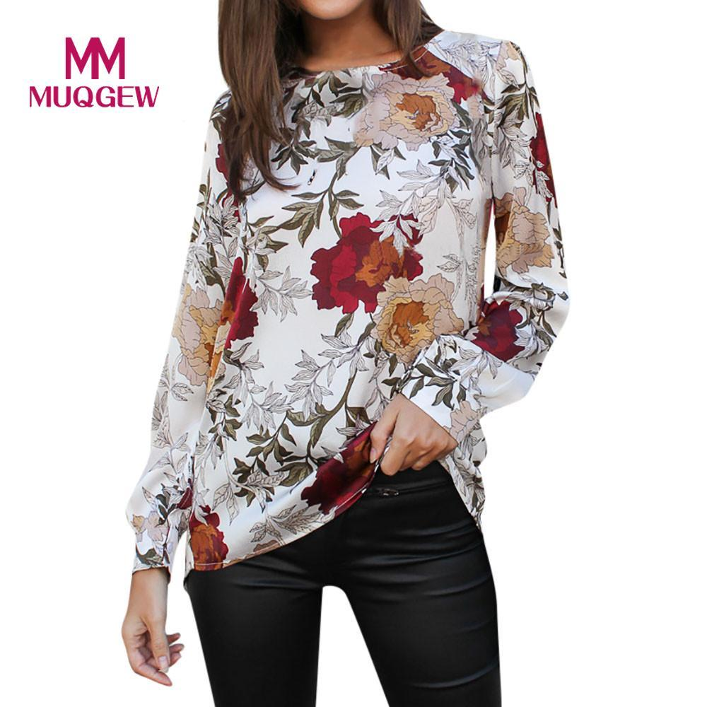 c9e47945fa52 ISHOWTIENDA 2019 Summer Female Shirts Autumn Long Sleeve Printed O Neck  Loose Tops Women Plus Size Women Shirts Lamtrip T Shirt T Shirts From  Waistband18, ...