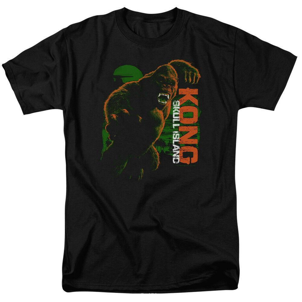 "Kong Skull Island ""Attack Mode"" T-Shirt - S - 5X Funny free shipping Unisex Casual"