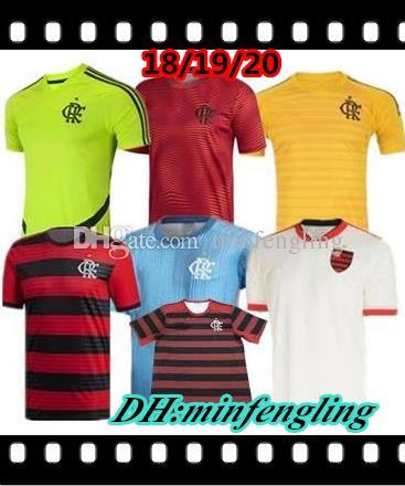0e3cdbfa4 2019 2020 Flamengo Red Training Suit 19 20 Flamenco Green DIEGO ...