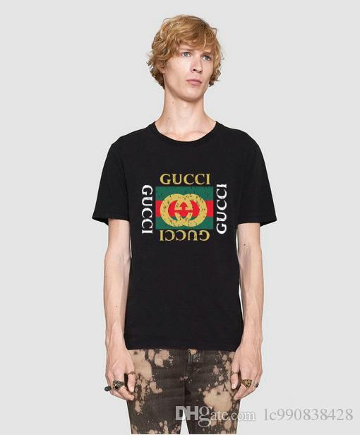 7eb89ce5ff8 Summer Island Stone Cotton Printed T-shirt Round Collar White Men s ...