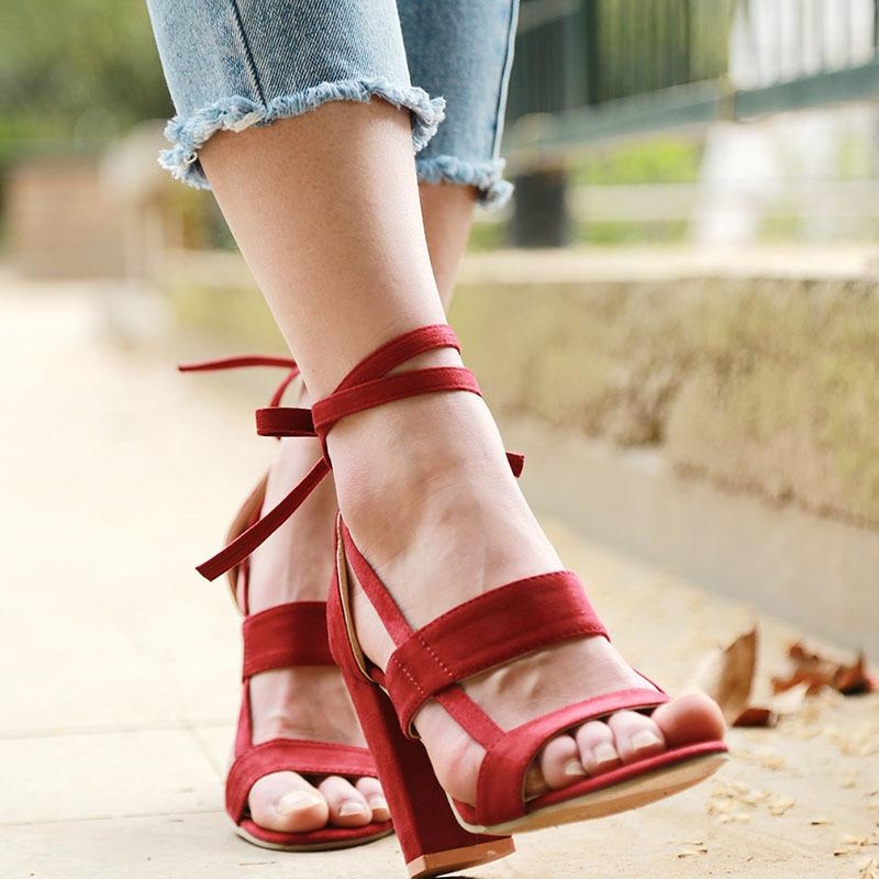 f8aeda6bc554 Dress Shoes Zapatos Mujer Ladies Platform Sandals Summer Ankle Strap  Sandals High Heels Women Pumps Wedding Gladiator Woman Lace Up Mens Dress  Boots Men ...