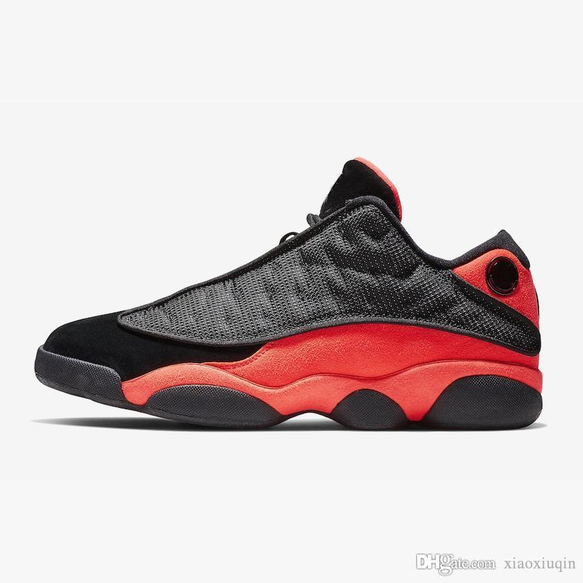 info for c3a8a 7dad6 Cheap retro 13s basketball shoes new aj13 black red orange bred Tan Brown  Gold Yellow j13 air flights Jumpman XIII sneakers boots with box