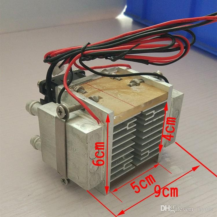 Freeshipping NEW Cooling!DIY 120W TEC Peltier semiconductor refrigerator  water-cooling air condition Movement for refrigeration and fan