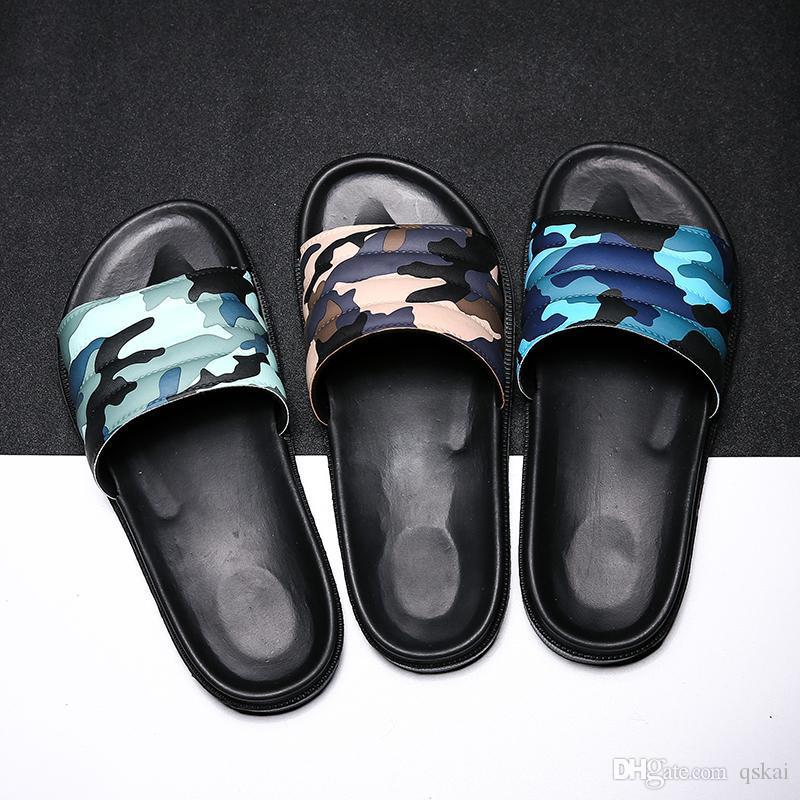 d830ea505c6b New Designer Rubber Slide Sandal Floral Brocade Men Slipper Gear ...