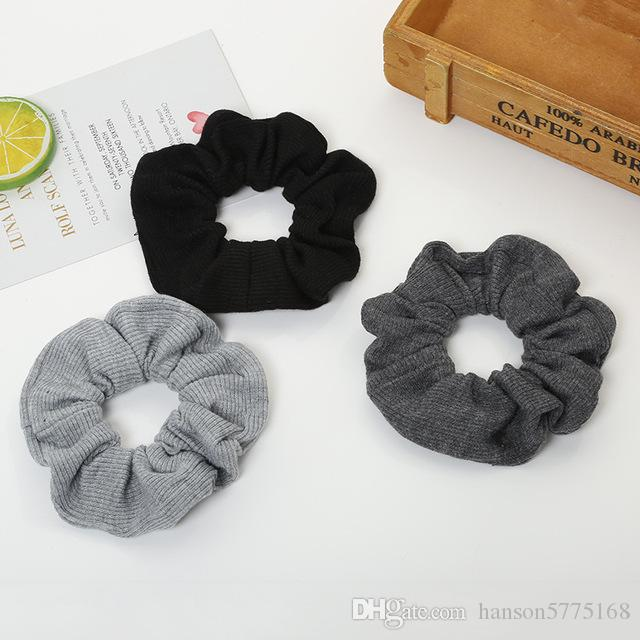 Big Thick Cloth Girls Scrunchies Elastic Lady Hair Bands Ponytail Holder  Autumn Winter Rubber Band Hair Tie Hair Accessories Beaded Hair Accessories  Hair ... 41e48601abc