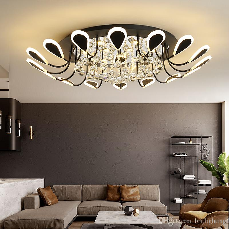 2019 living room led ceiling light fixtures simple modern home rh dhgate com