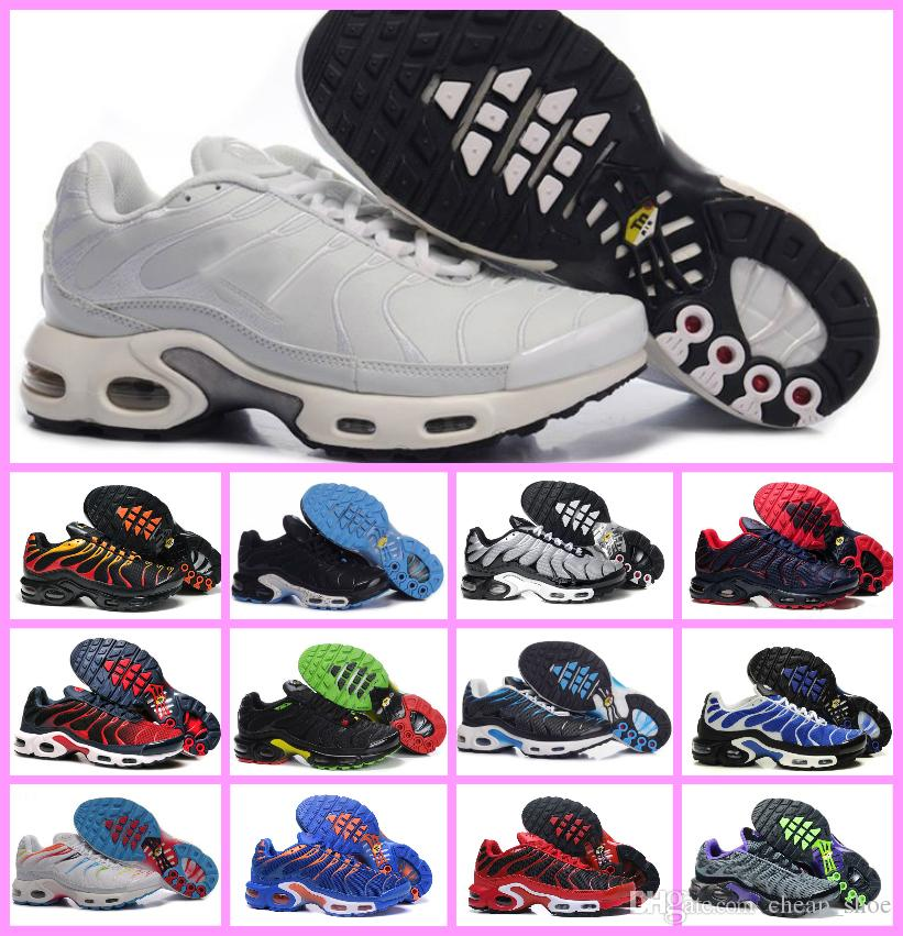 sale retailer b531f 04f78 2019 New Tn Plus Men Shoes Breathable Trainers Mens Sports Shoe Black White  Red Casual Outdoor Men s Sport Sneaker Size 40-46 TN SHOES TN Plus Tn  Chaussures ...