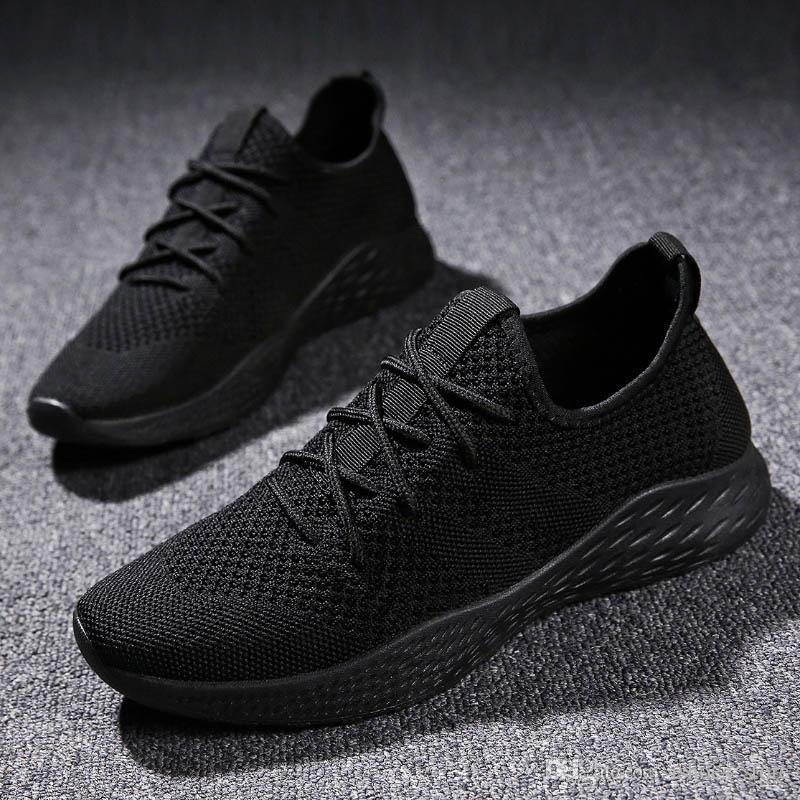 31696f09 Compre Weweya 2018 Moda Tenis Verano Transpirable Calzado Masculino Zapatos  De Malla Para Hombres Cordones Adulto Zapatillas De Deporte Caminar Zapatos  ...
