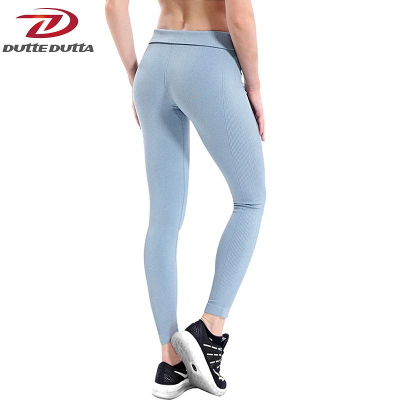 a8d34bac6f856 2019 Women Yoga High Elastic Fitness Sport Leggings Tights Slim Running  Sportswear Sports Pants Quick Drying Training Trousers C19041901 From  Linmei0004, ...