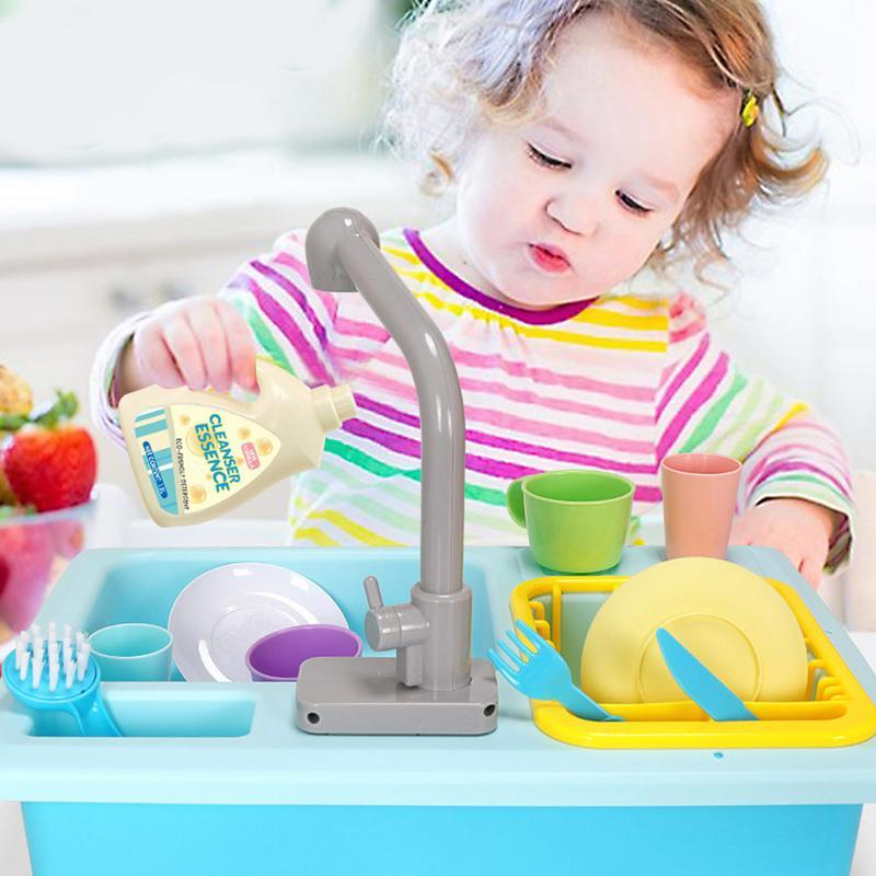 2019 simulation kitchen toy children play house small pool puzzle rh dhgate com