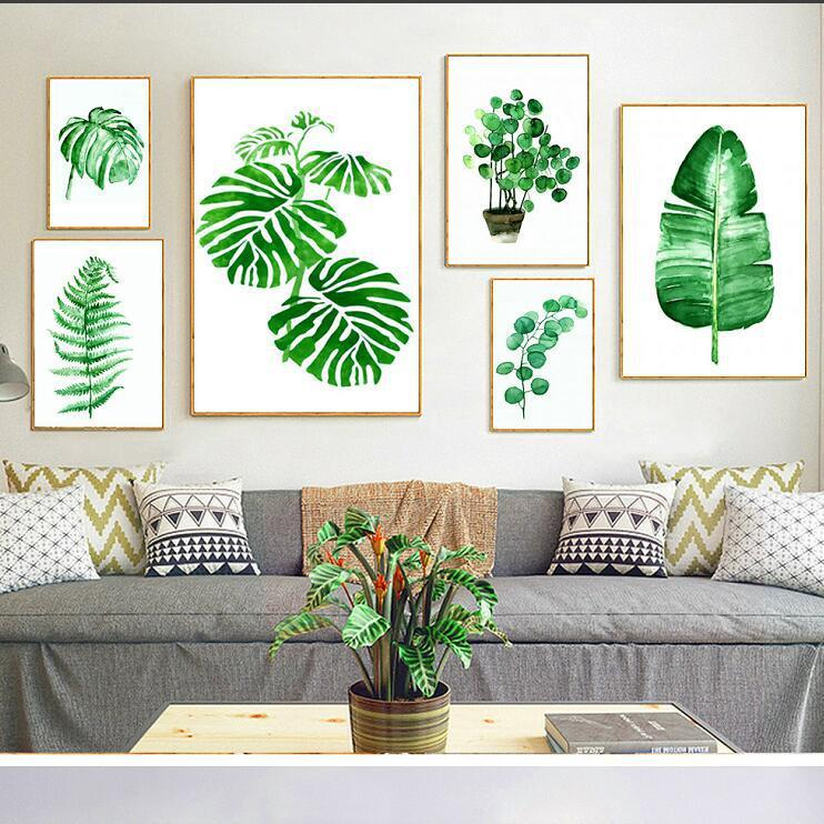 2019 nordic pastoral green plant leaves small fresh combination rh dhgate com