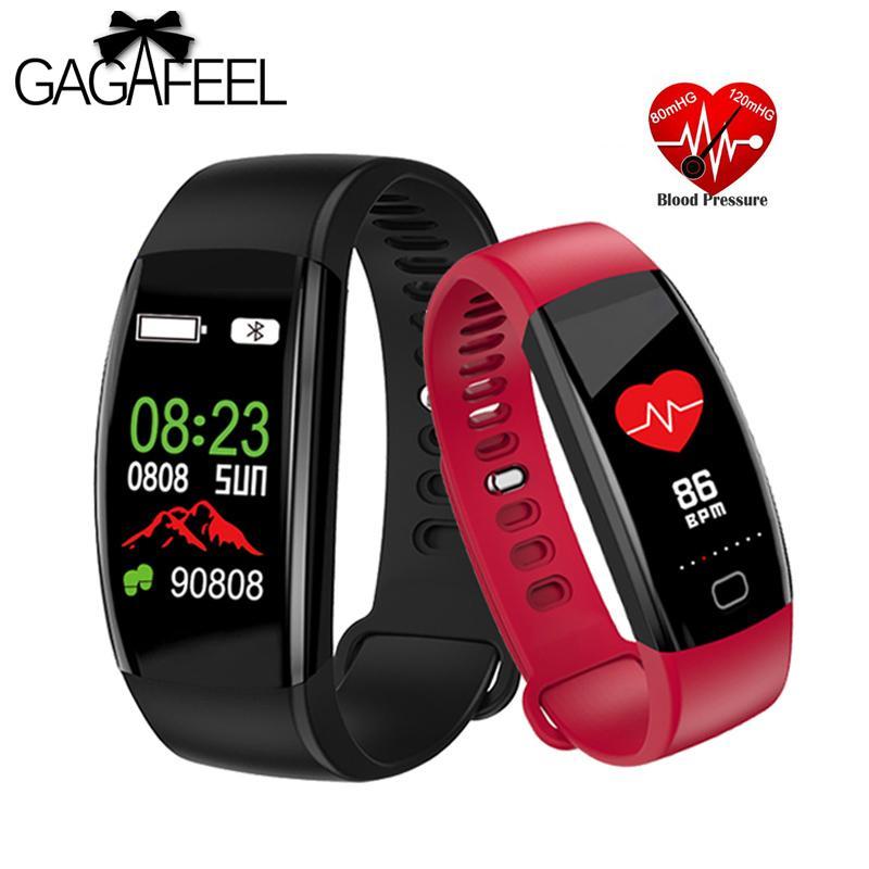 Smart Watch Gps Men Women Watches Blood Pressure Round Sport Band Fitness Smartband Waterproof Smart Bracelet For Girls Man Ios Digital Watches