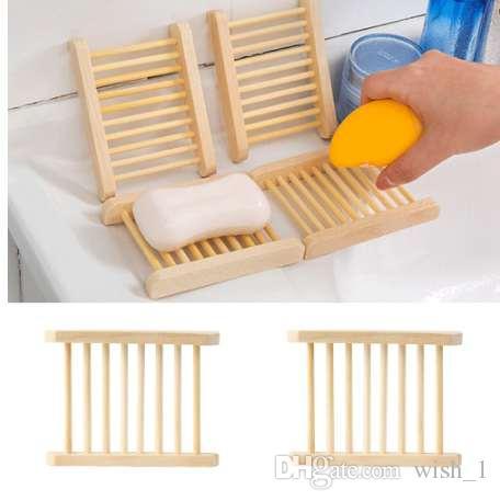 2019 new useful 12 9cm natural wood strong bathroom soap dish drain rh dhgate com