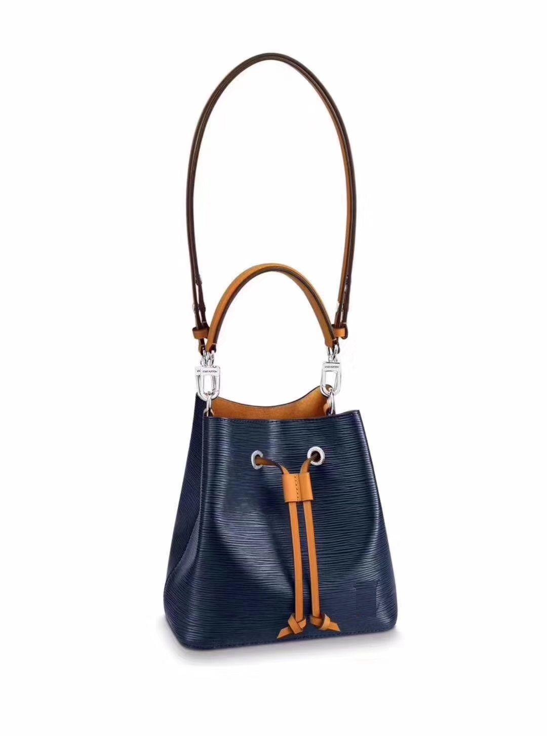 1b7cc73f44a1 Womens famous brands designer Fashion handbags crossbody purse TWIST NEONOE  shoulder bags Noé leather bucket bag cheap Evening Totes