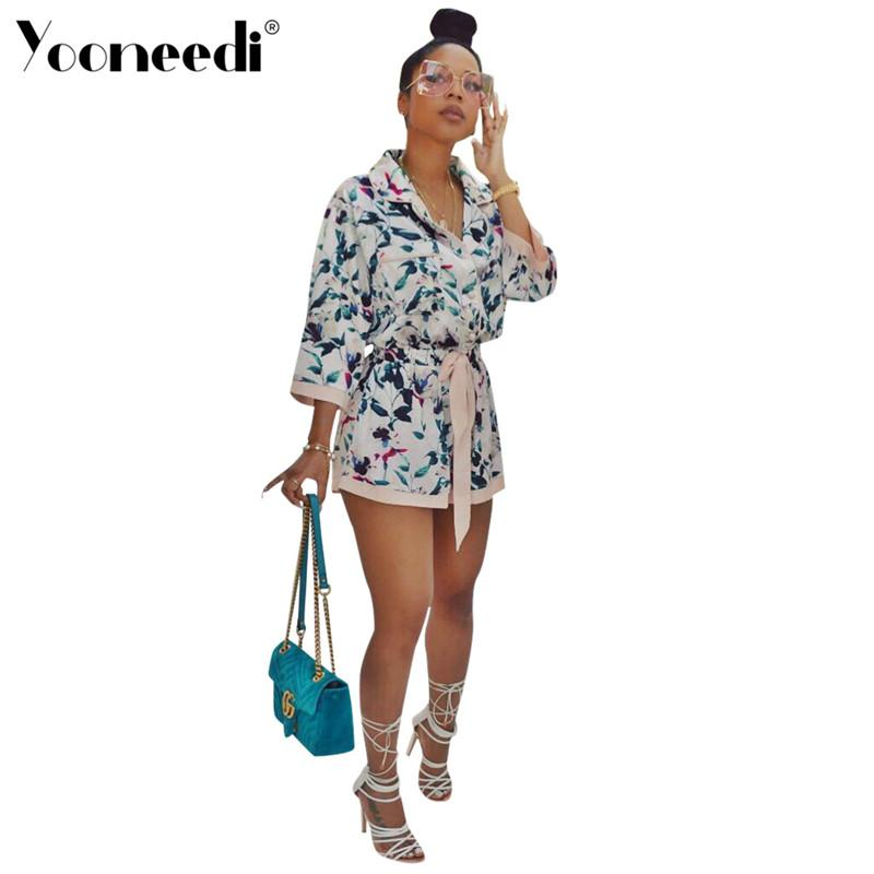1e9f59ae873 Yooneedi 2019 Summer New Arrilval Style Casual Women Playsuits Color ...