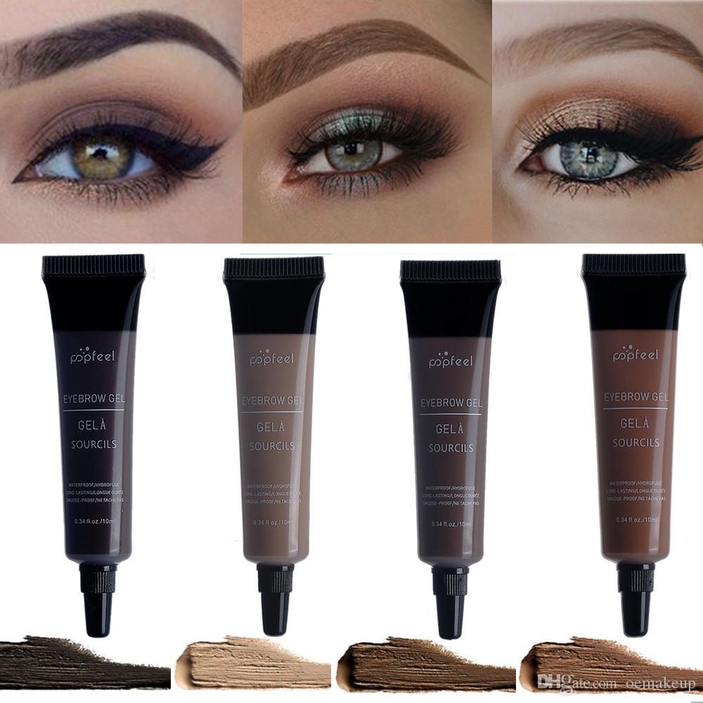 30633bf4f15 Popfeel 3D Fiber Eyebrow Gel Mascara Cream Eye Brow Makeup Set Kit  Waterproof Long Lasting Eyebrow Enhancer Cosmetics Eye Beauty Beauty  Products Eyebrow ...