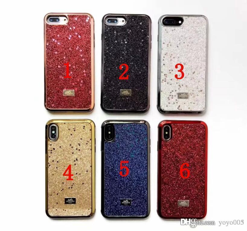 100% authentic cb1d9 131e9 2019 New Brand star bling phone Case for IPhone X 8 7 6 Plus XS XR Xs max  Back Cover Shell Goophone Xs max 053