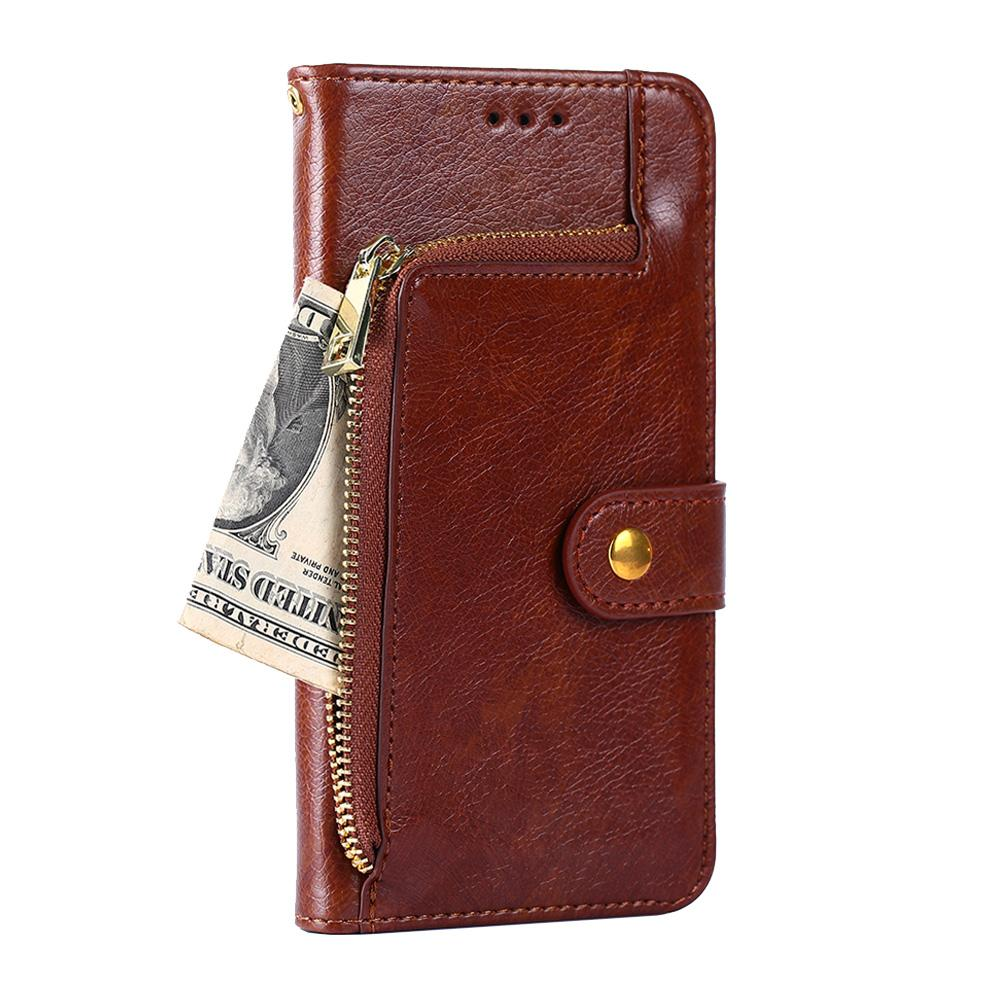 newest collection 7fa56 040d1 Book Case for Xiaomi Redmi 4 4 Pro 4A 4X Leather Cases Flip Cover for Redmi  4PRO 4 A X Wallet Phone Cases Zipper with Card Slot