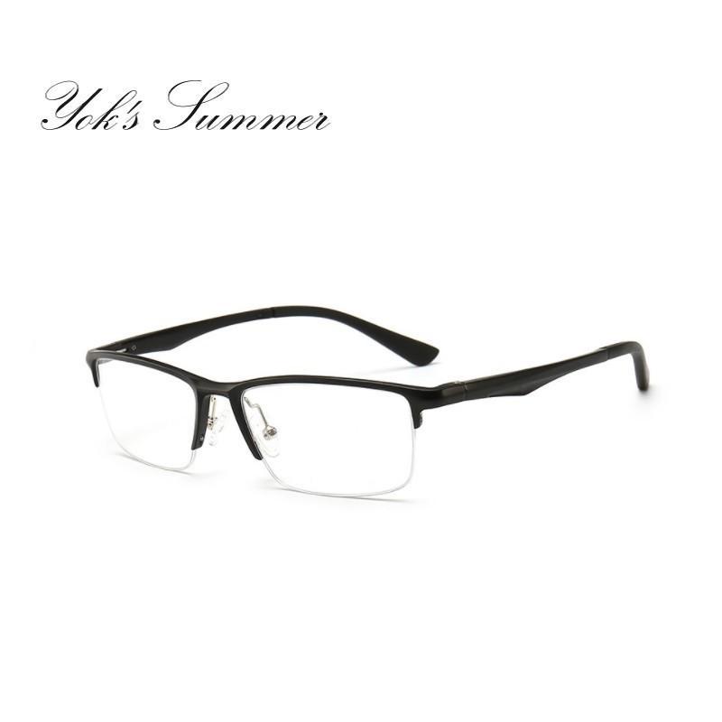 5dfd203776 2019 Yok S Brand Designer Men Glasses Frame Aluminium Magnesium Frame Ear  Lens Sports Eyeglasses Prescription Myopia Goggles HN1190 From Taihangshan