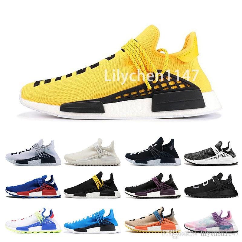 7416a81acb4e5 Human Race Mens Designer Running Shoes 2019 Men Casual Pharrell Williams  3.0 Women Air Trainer Outdoor Best Hiking Jogging Sports Sneakers Shoes  Shop Free ...