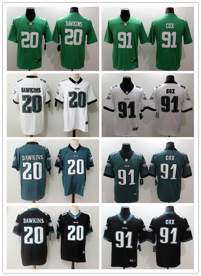 7ee34d1197f 2019 Mens 20 Brian Dawkins Philadelphia Eagles Football Jersey ...