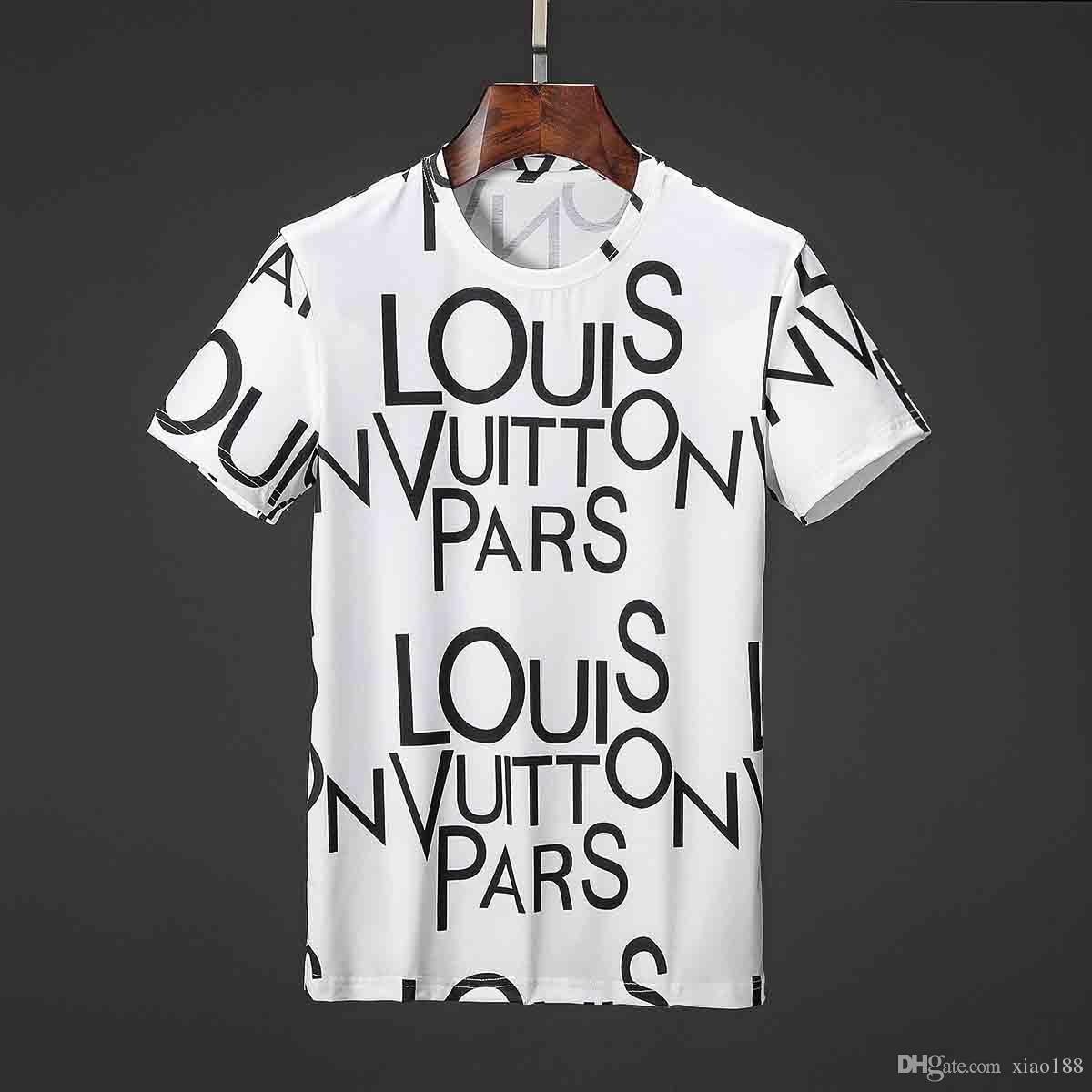 d8bcfb49 Fashion Designer Mens T Shirt For Men Breathable Tshirt With Letters Summer  Short Sleeve Mens Tee Shirt Medusa T Shirt Clothing Coolest T Shirts T Shirt  ...