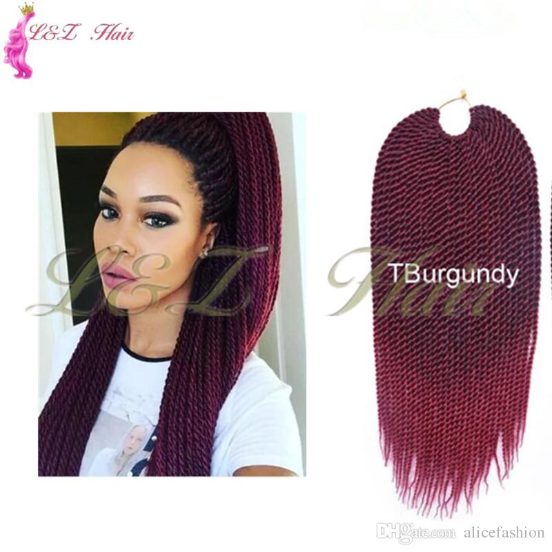 Synthetic Crochet Braids Senegalese Twist Hair Extension Aliexpress Hot selling Twist Braids Hair Extensions Wholesale Price Long Senegalese
