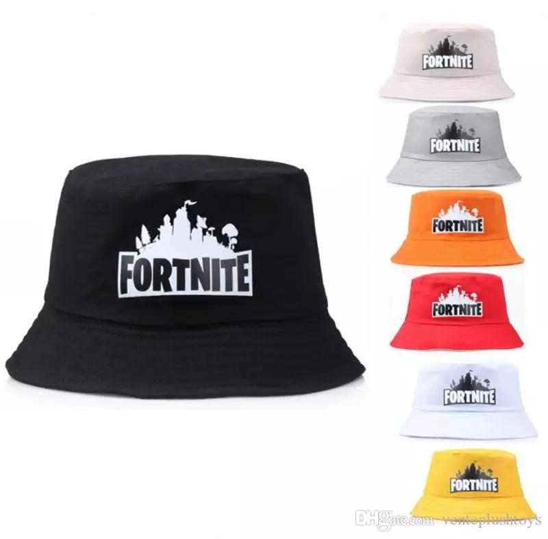 2019 Game Fortnite Bucket Hat Cotton Fisherman Hats Summer Fortnite Printed  Visor Cap Fashion Sunhat Fishing Outdoor Topee Caps From Venteplushtoys 991a22ce410