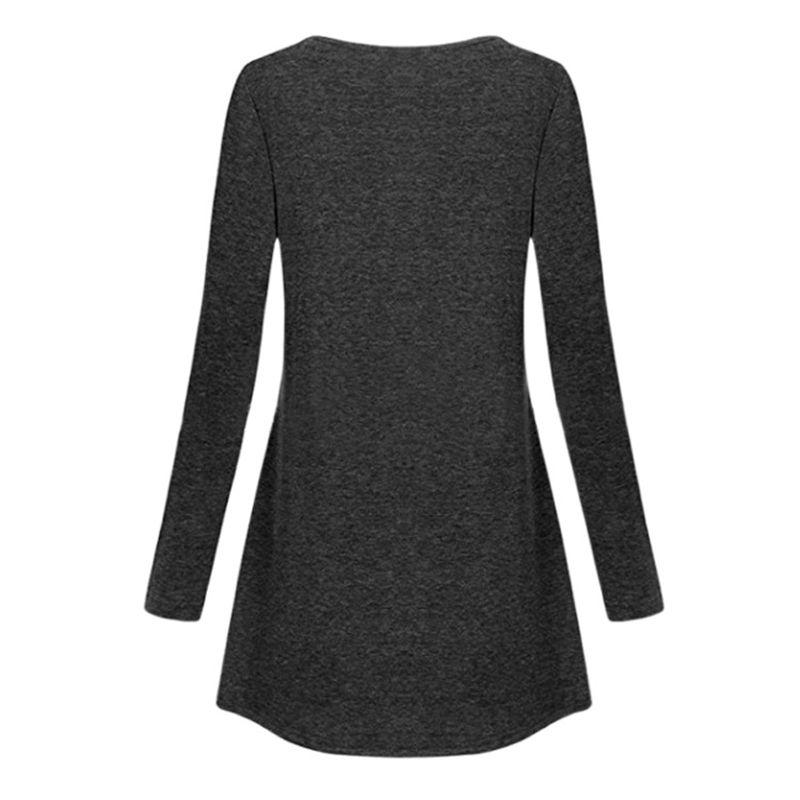 Fashion Women Irregular Tops Casual Blouse Cotton Shirt Autumn Lace Tunic Shirt Long Sleeve Female Jumper Blusas Camisas Mujer