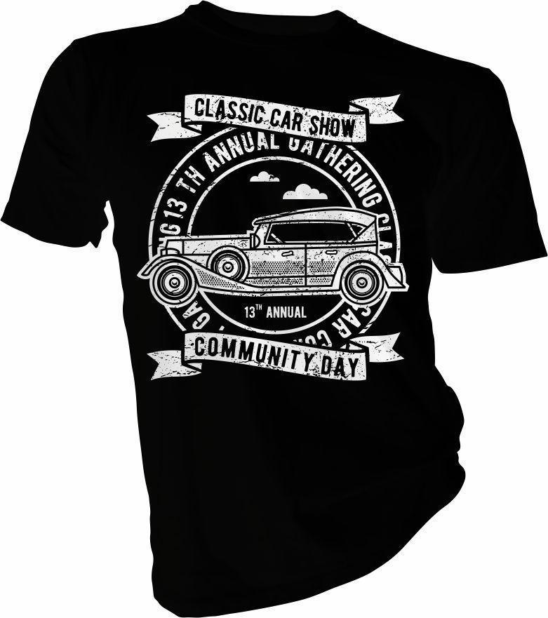 c8bb241ba 13th Annual Classic Car Show, Cars, Motor Adult & Kids T Shirt Printed T  Shirt Funny Tees Shirts Cool Tops Basic Models Tee Shirt Rude Tshirts  Offensive Tee ...