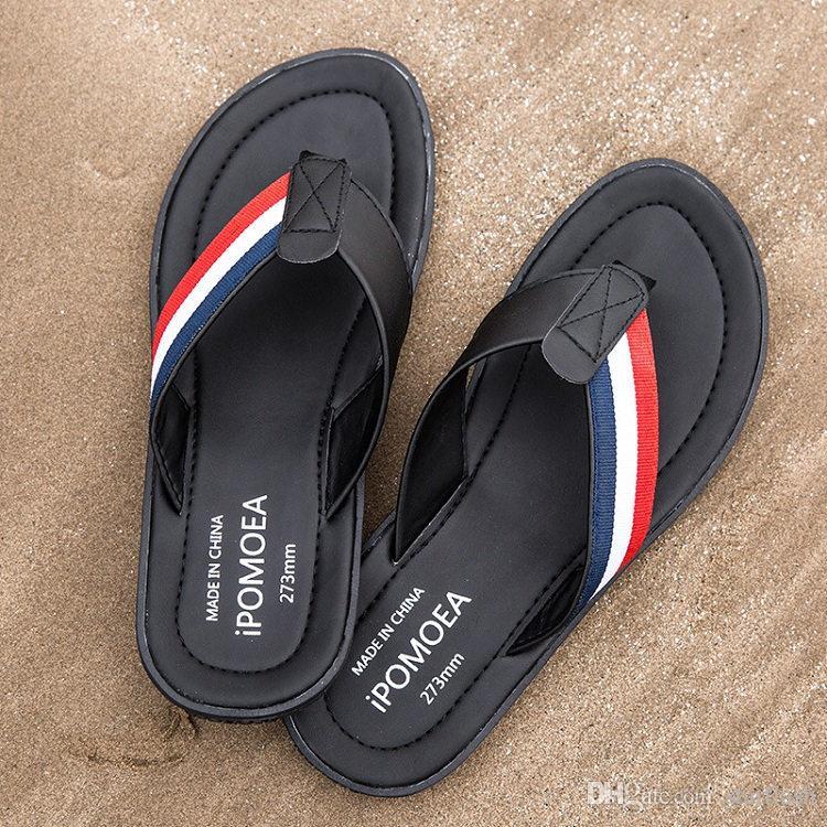 SchöN Männer Aus Echtem Leder Flip-flops Sommer Schuhe Männer Hausschuhe Walking Man Flip Flop Schuhe Männlichen Schuhe Slides Slipper Herrenschuhe