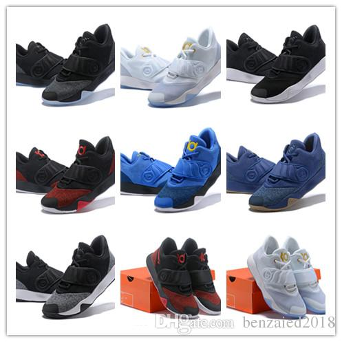 newest 7ea50 e287f 2019 2019 New Arrival KD VI Terre 6 Black Blue Sports Basketball Shoes Top  Quality Mens Kevin Durant 6S Trainers Designer Sneakers SIZE 40 46 From ...
