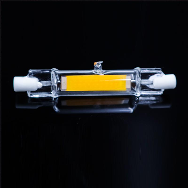 118mm 78 Cob Halogène En Remplacez Spot Ampoule 220v Lumineux Ac Le 15w R7s 118 78mm Lampe Tube Verre Led 7w 9IDWEH2