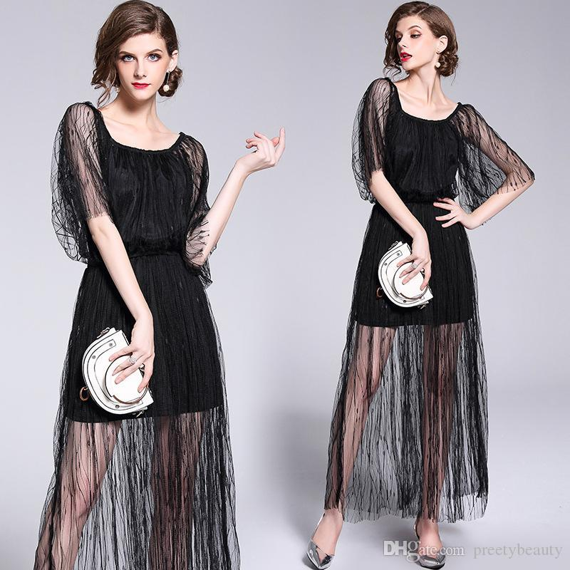 11d9032315c Sexy Beach Wed Dress For Women Elegant Shoulder Off Dresses High Waist Sheer  Black Sexy Club Dress Summer Dress Short Dresses From Preetybeauty