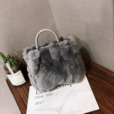 NEW Winter Soft Faux Fur Bag Small Fashion Women Fur Tote Bag Warm Plush  Handbag Ladies Crossbody Shoulder Bag Luxury Messenger D19011204 Leather  Purses ... a961737291ca7