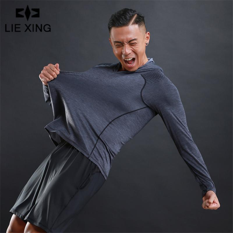 2019 Autumn New Mens Hooded Hoodies Fashion Casual Thin Male Gyms Fitness Bodybuilding Sweatshirt Sportswear Brand 3 Color