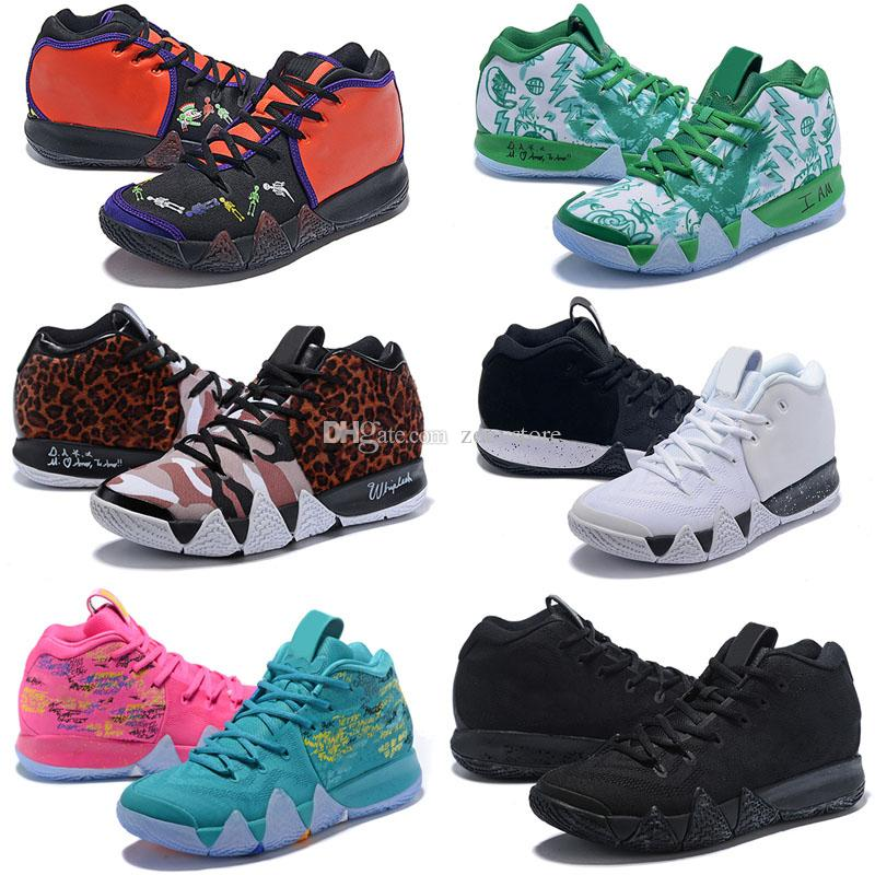 promo code f8b0c edaa1 Kyrie IV Confetti Multicolor BHM EQUALITY All-Star March Madness City  Guardians London Mamba 4 Outdoor Shoes