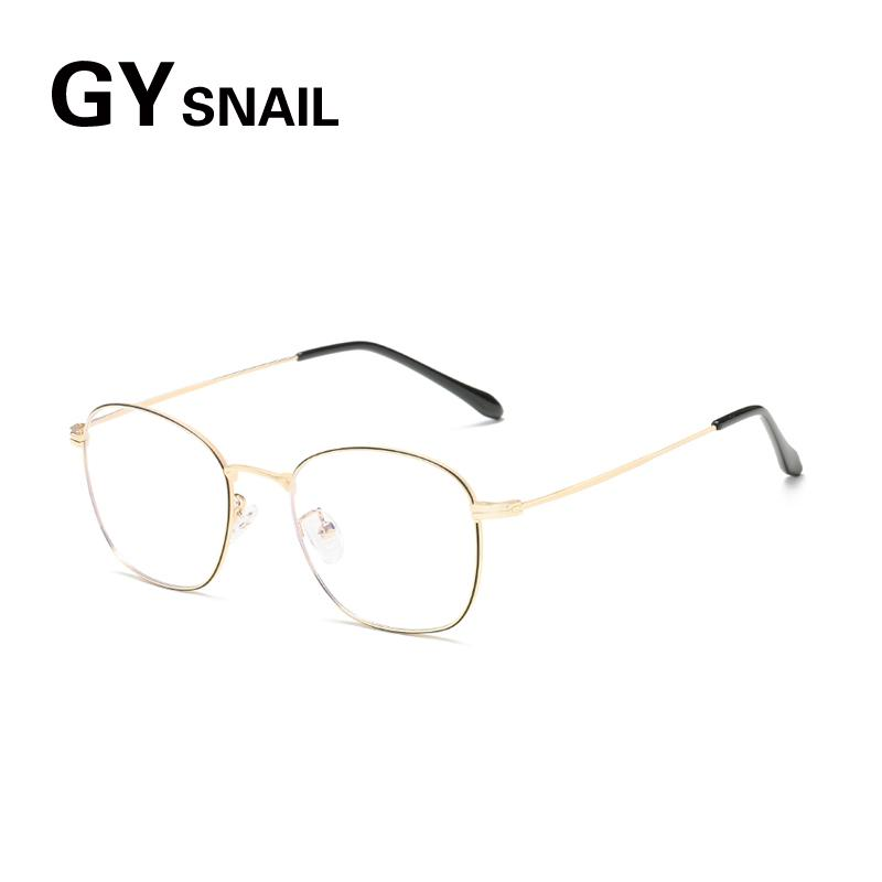 1f6bd629c4 2019 GYsnail Computer Glasses 2019 Spectacle Frames Anti Blue Light Block Goggles  Anti Glare Eyeglasses Frame Women Round Clear Lens From Marquesechriss