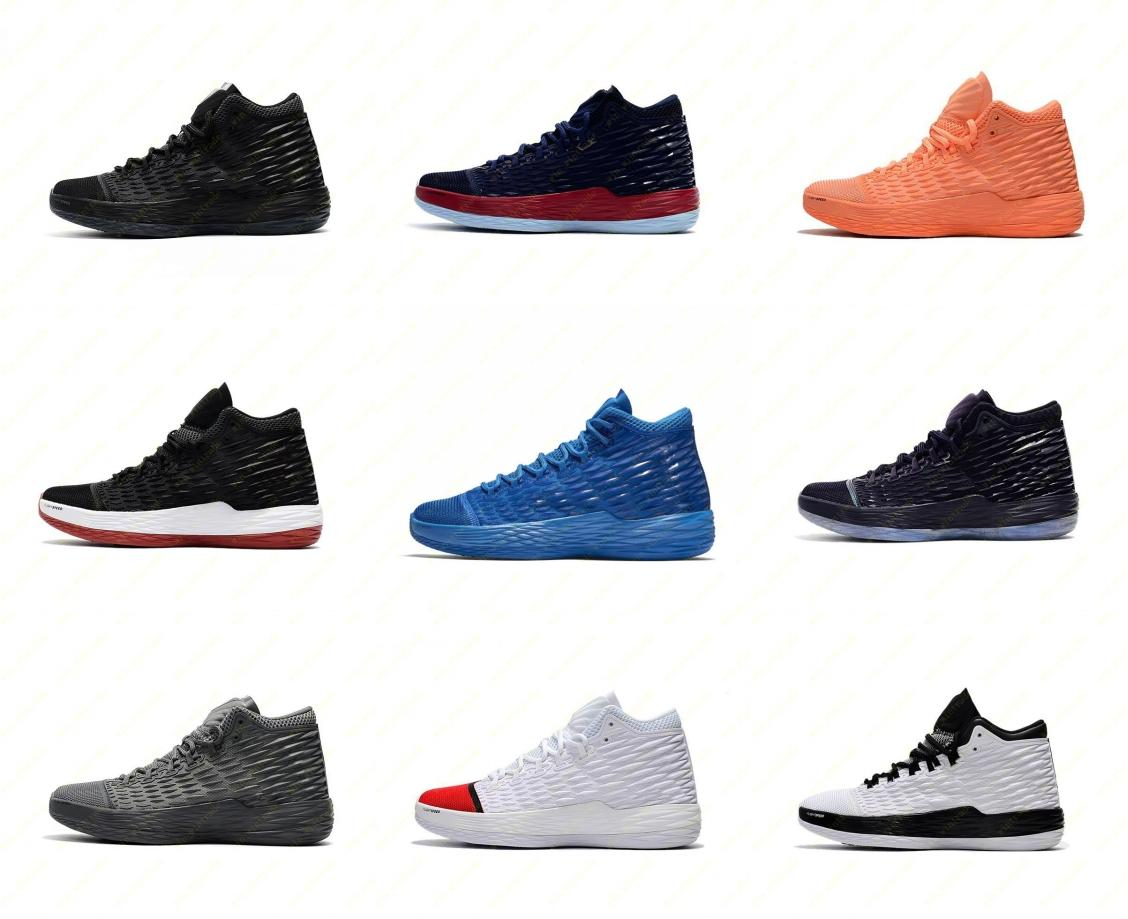 247b5bc72e6736 Men New MELO M13 Basketball Shoes GYM RED BLUE Black High Quality Melo M13  Carmelo Anthony 13 XIII Basketball Sneakers 40 46 Tennis Shoes Shoes Sale  From ...