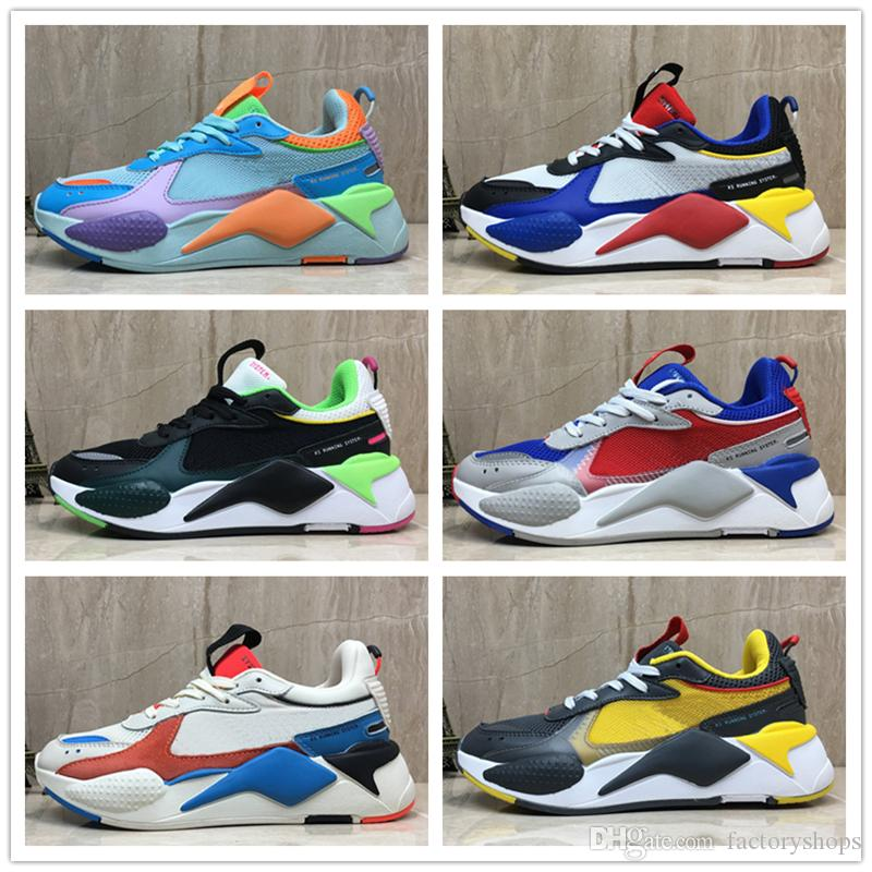 63d8a427d9 2019 New Creepers High Quality RS X Toys Reinvention Shoes New Men Women  Running RS X RS Reinvention Trainer Casual Sneakers Size 36 45 Sport Shoes  Mens ...
