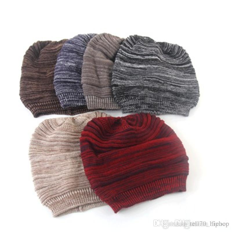db087d32 Bulk Polyster Winter Hats Adult Skully Brand Hats Beanies Fitted Hat ...
