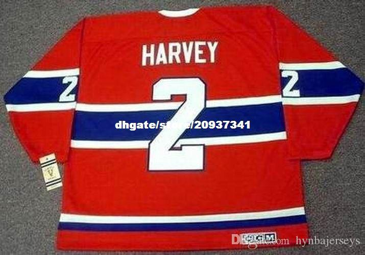 watch 6a93d 53af3 Wholesale Mens DOUG HARVEY Montreal Canadiens 1959 CCM Vintage Cheap Retro  Hockey Jersey