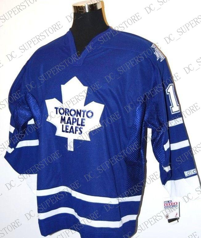 huge selection of 034cd 3a96a Cheap custom Toronto Maple Leafs CCM Vintage Hockey Jersey #1 Raycroft Mens  Personalized stitching jerseys