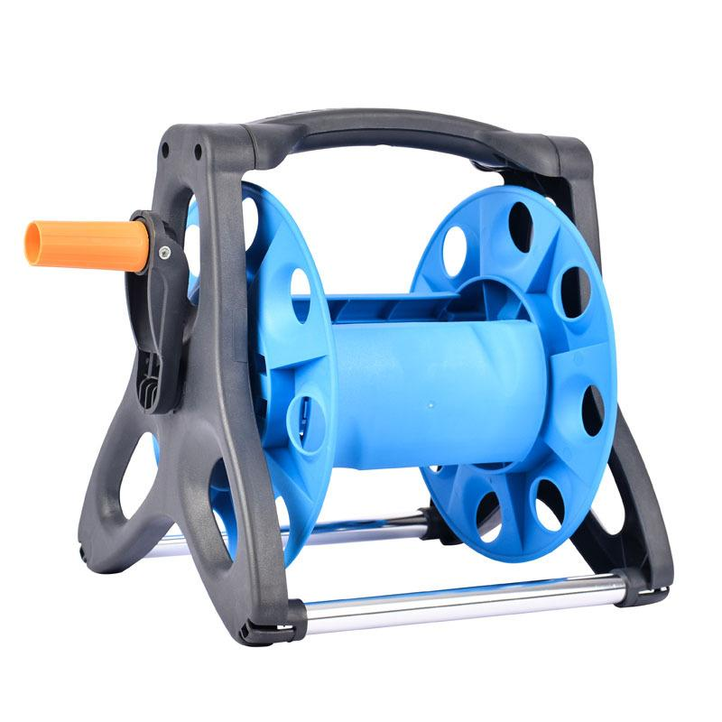 10m/15m/20m Portable Free Standing Hose Pipe Reel Holder Garden Cart Water  Pipe Hose Carrier For Garden Irrigation Storage Tool