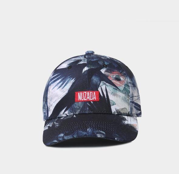 2019 NUZADA Original 3D High Refinition Transfer Printing Men Women  Baseball Cap Bone Spring Summer Cotton Caps Hats Snapback Kangol Baseball  Caps From ... 88c1054265