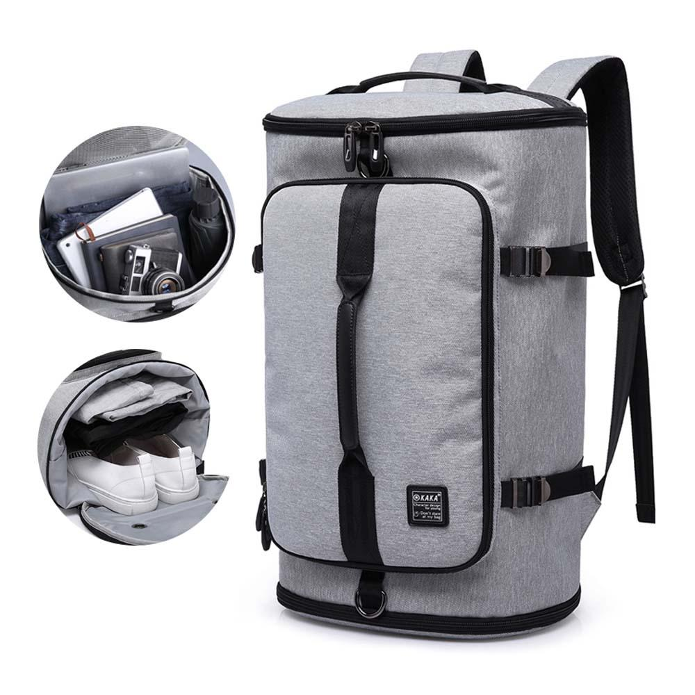 40L Large Capacity Backpack Unisex Oxford Business Travel Backpack Rucksack Tool Gear Bag Outdoor Activities Camping