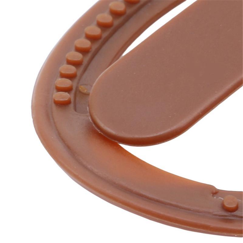Envío gratis 1 unid Mujeres Niñas Suave Plástico Clip de Pelo Bollo Hacedor Barrette Styling Tool Nueva Moda Accesorios Para el Cabello Negro / Marrón